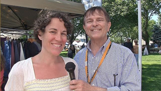 Farmers Market director Estelle Rand talks to host Walt Kosmowski