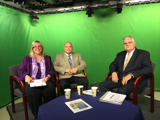 John King interviews Director John Somes and Charlene St. Jean of the Chamber