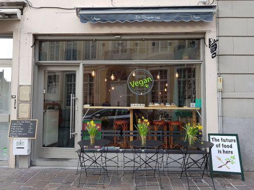 vegan lunch in Brugge de Brugsche Tafel