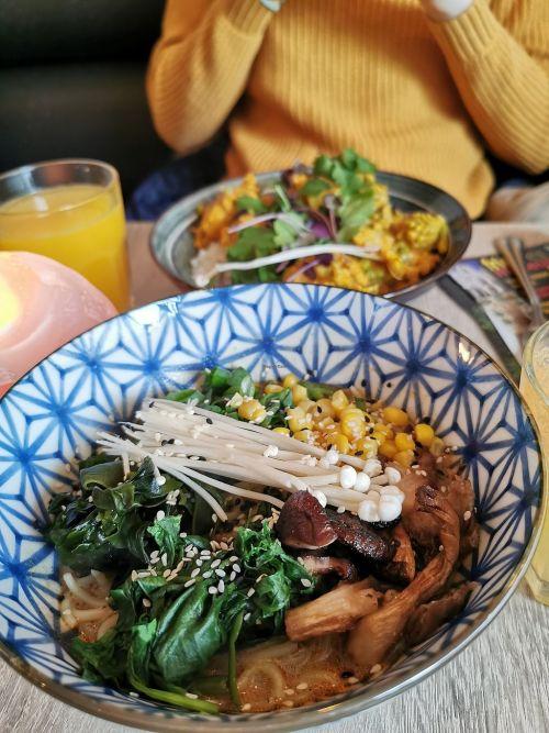 vegan lunch de Brugsche Tafel
