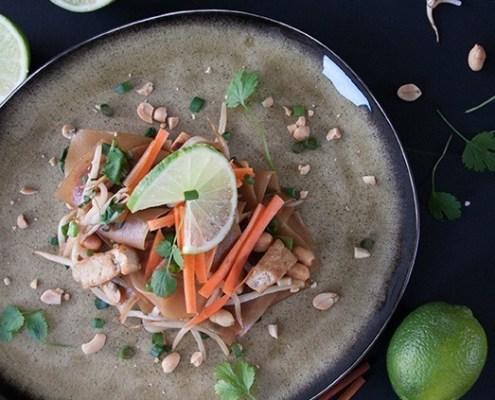 recept veganistische pad thai