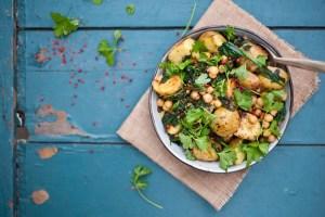 recette vegane salade de pommes de terre