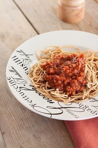 recette vegetalienne spaghettis bolognaise