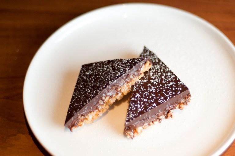recept vegan pindakaas-chocoladerepen