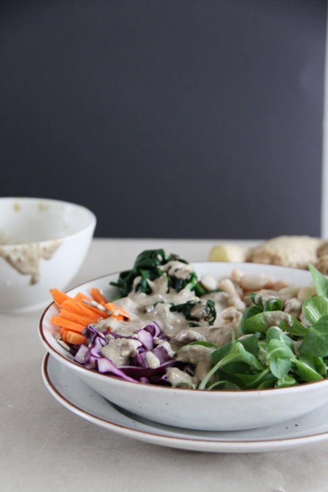 vegan lunchbowl