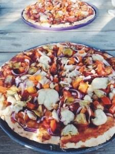 recept veganistische pizza met cashewmozzarella