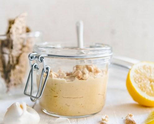 recette houmous végétalien aux cacahuètes