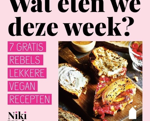 vegan kookboek Rebels lekker! weekmenu