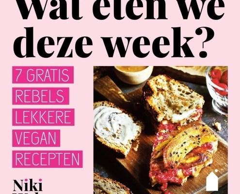 vegan kookboek Rebels lekker! weekmenu