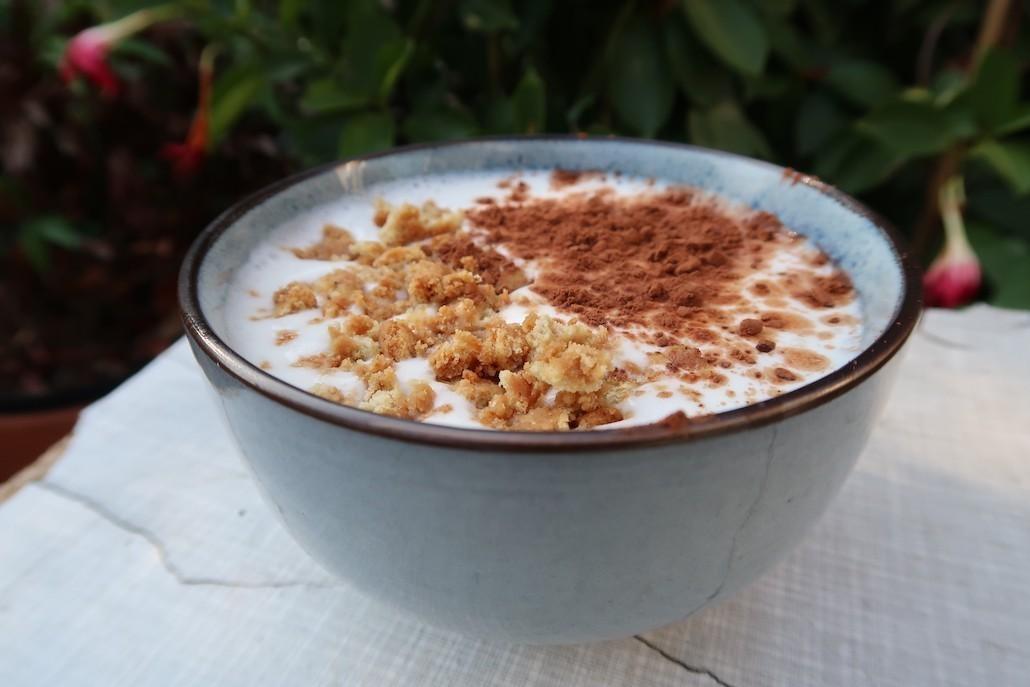 recept veganistische tiramisu met kokosyoghurt