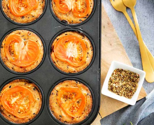 recette mini quiches véganes