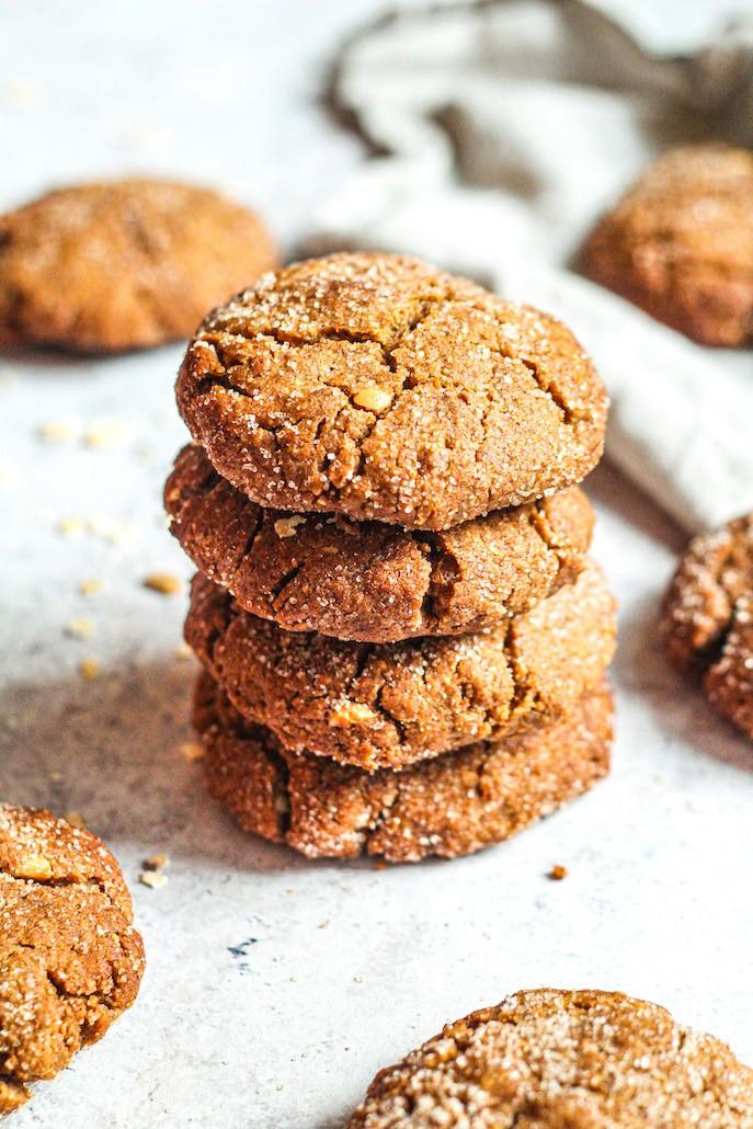 recept vegan en glutenvrije kaneelkoekjes