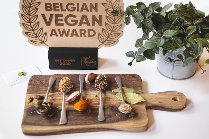 Belgian Vegan Awards Best Dinner 2020