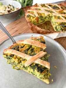 recept vegan quiche met tofu