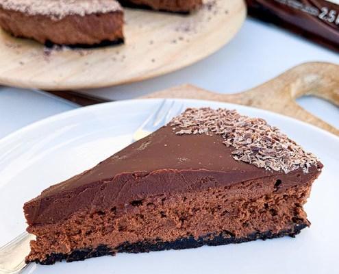 recette tarte végane mousse chocolat oreo Janne Daems