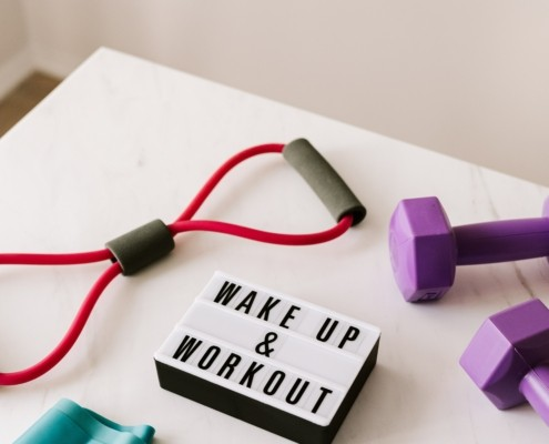 Wake up & work out