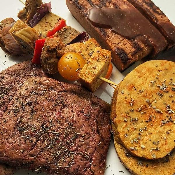 repas végétalienne The Vegan Butcher
