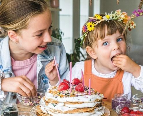 gâteau de crêpes végane