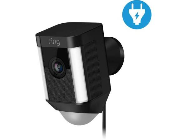 ring Spotlight-Cam 8SH1P7-BEU0 IP Bewakingscamera WiFi 1920 x 1080 pix