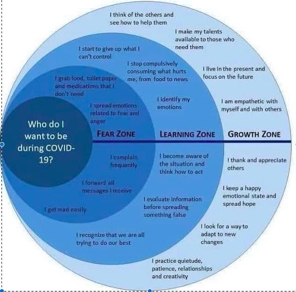 Cover -19 Zones of Comfort