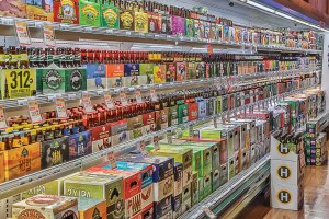 Trig's Cellar 70 in Wisconsin organizes all beers by state.