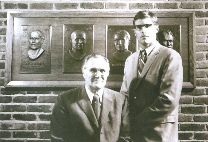 Bill Samuels Sr and Bill Jr.