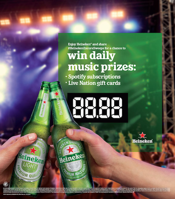 Heineken Launches Summer Music Sweepstakes | Beverage Dynamics