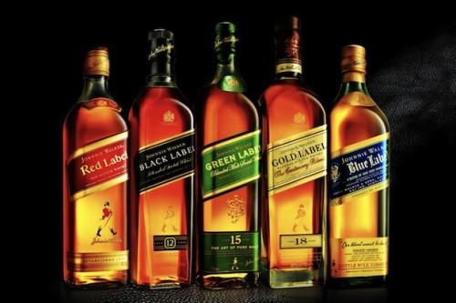 Johnnie Walker Labels