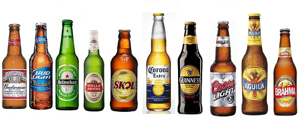 Millward Brown/WPP BrandZ World's Top 10 Beer Brands