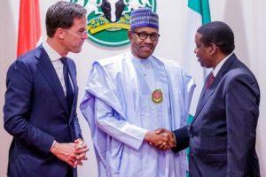 MoU Signing FrieslandCampina WAMCO and President Buhari