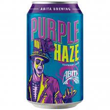Abita Purple Haze Beer Cans