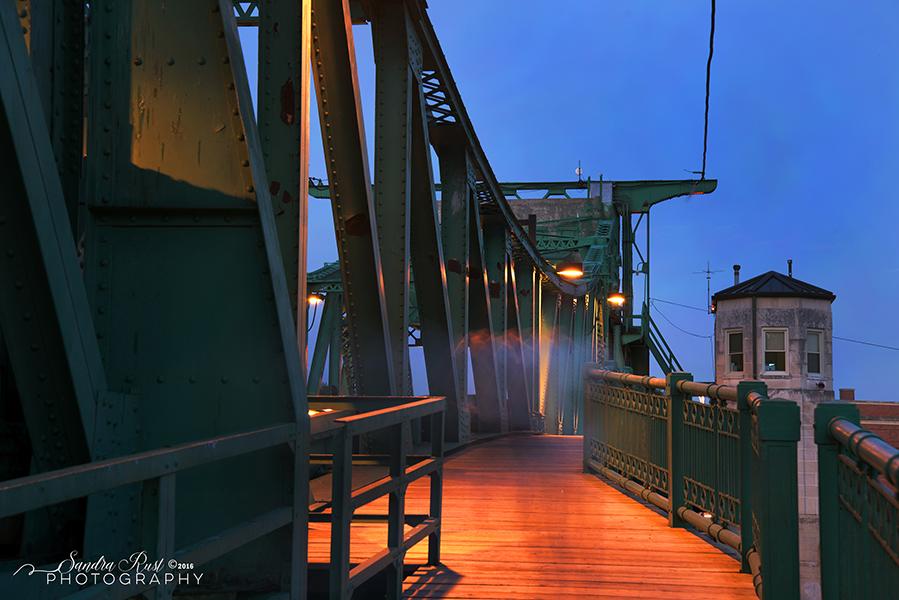 Joliet Historical Bridge Photography Series
