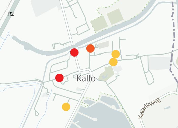 Meetpunten CurieuzenNeuzen Kallo