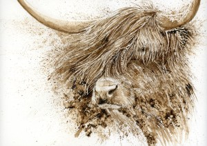 highland-cow-painting