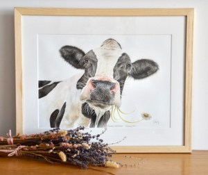 daisy-cow-painting