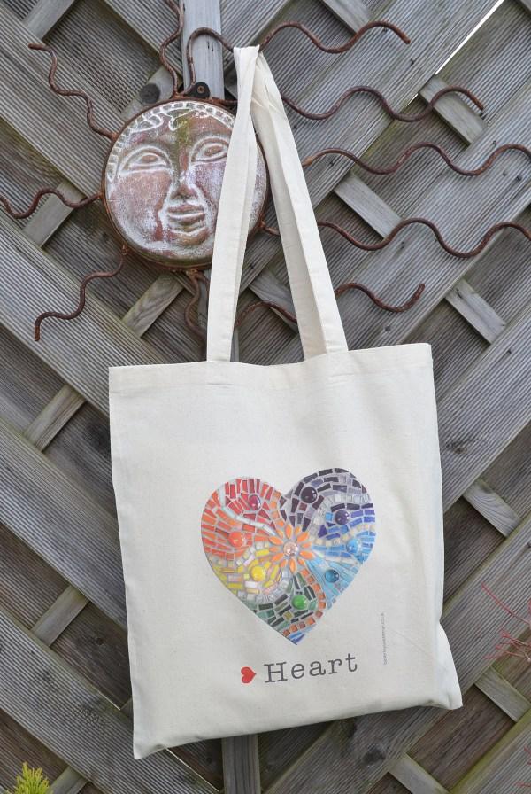 Rainbow heart bag 2