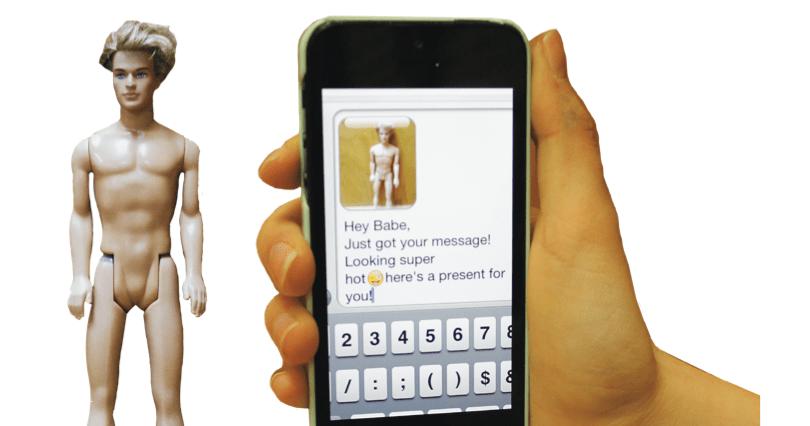 naked sexting