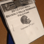 The press pass, also known as the key to an entirely different perspective on a football game.