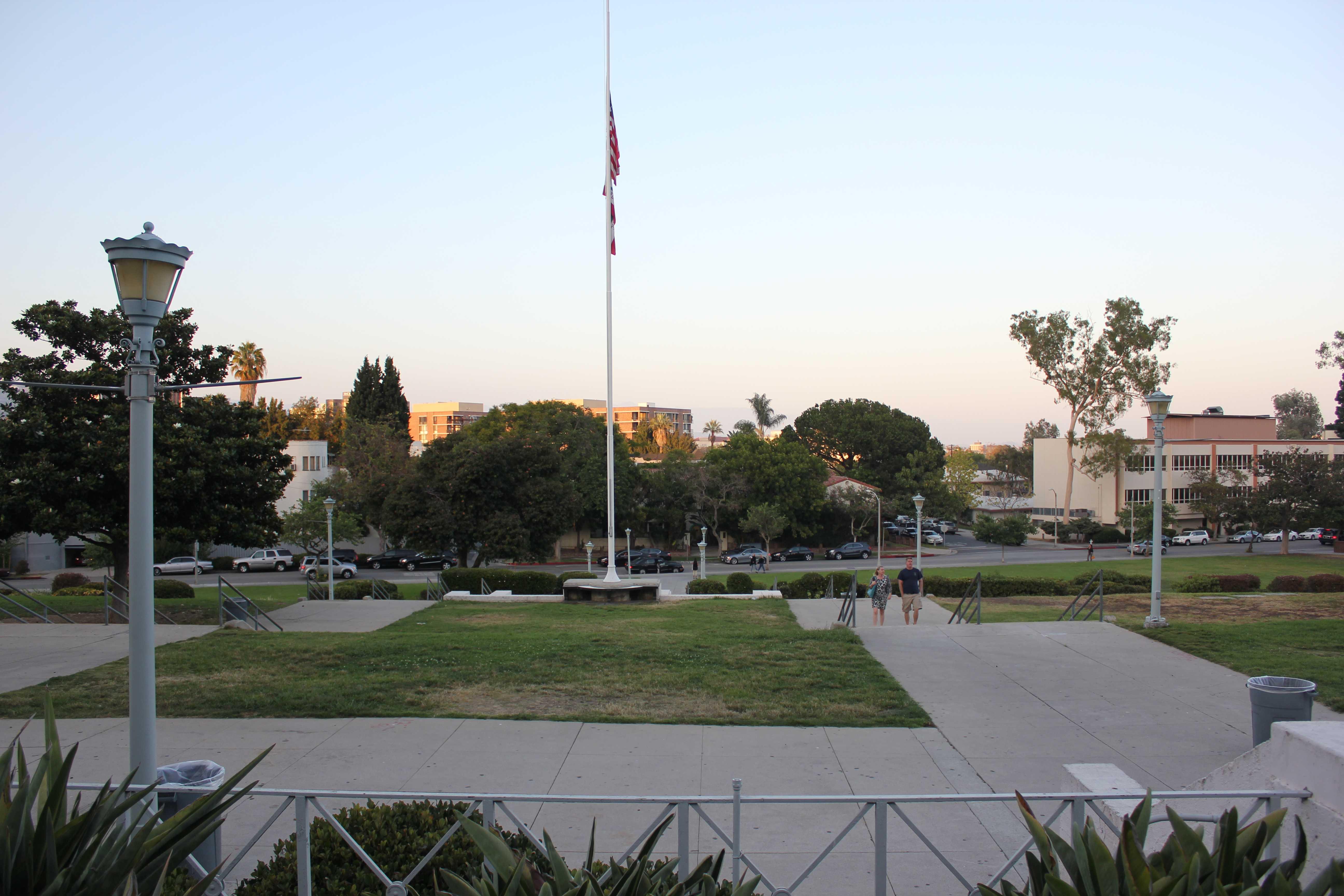 Beverly Hills High School celebrates Back to School Night on September 18, 2013.