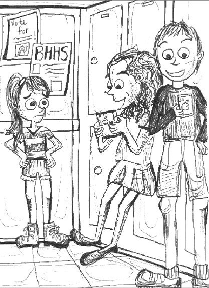 Cartoon by Sasha Park