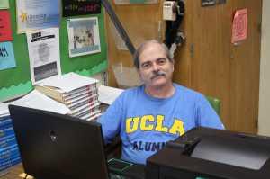 English teacher Bill Hiatt is a proud UCLA alumn.