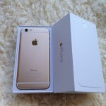 The gold iPhone 6, one of the three colors offered: gold, silver, and slate grey. Photo by: Karen Shilyan