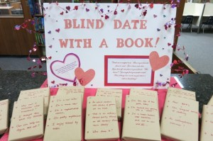 Inspired by other high schools and universities, Beverly's library attempts to start a new tradition with 'Blind Date'. Photo courtesy of: KAREN BOYARSKY