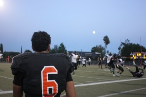 As their teammates faltered, there was nothing Beverly players could do from the sidelines but watch. Photo by: GUY GINSBERG