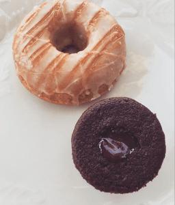Vegan donuts from Babycakes. Photo by: JULIETTE DEUTSCH