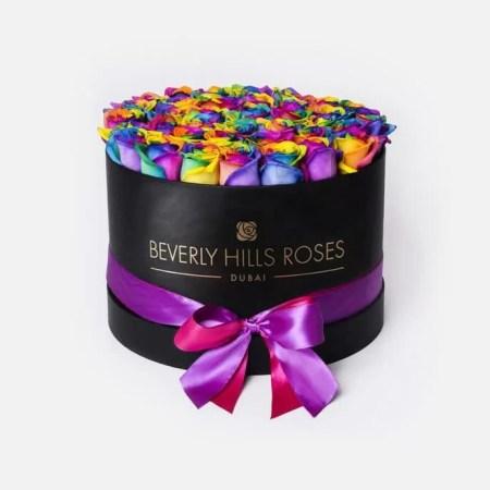 Medium black rose box in candy crush