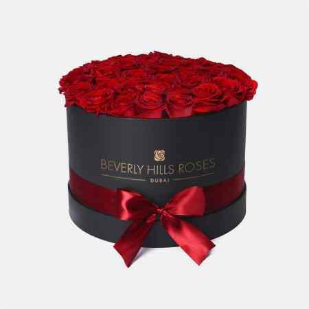 Medium black rose box in Hollywood