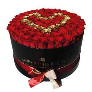 100 Roses in Dubai