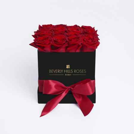 Square black rose box in Hollywood