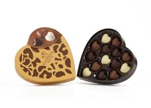 Godiva Coeur Heart Shaped Chocolate Box